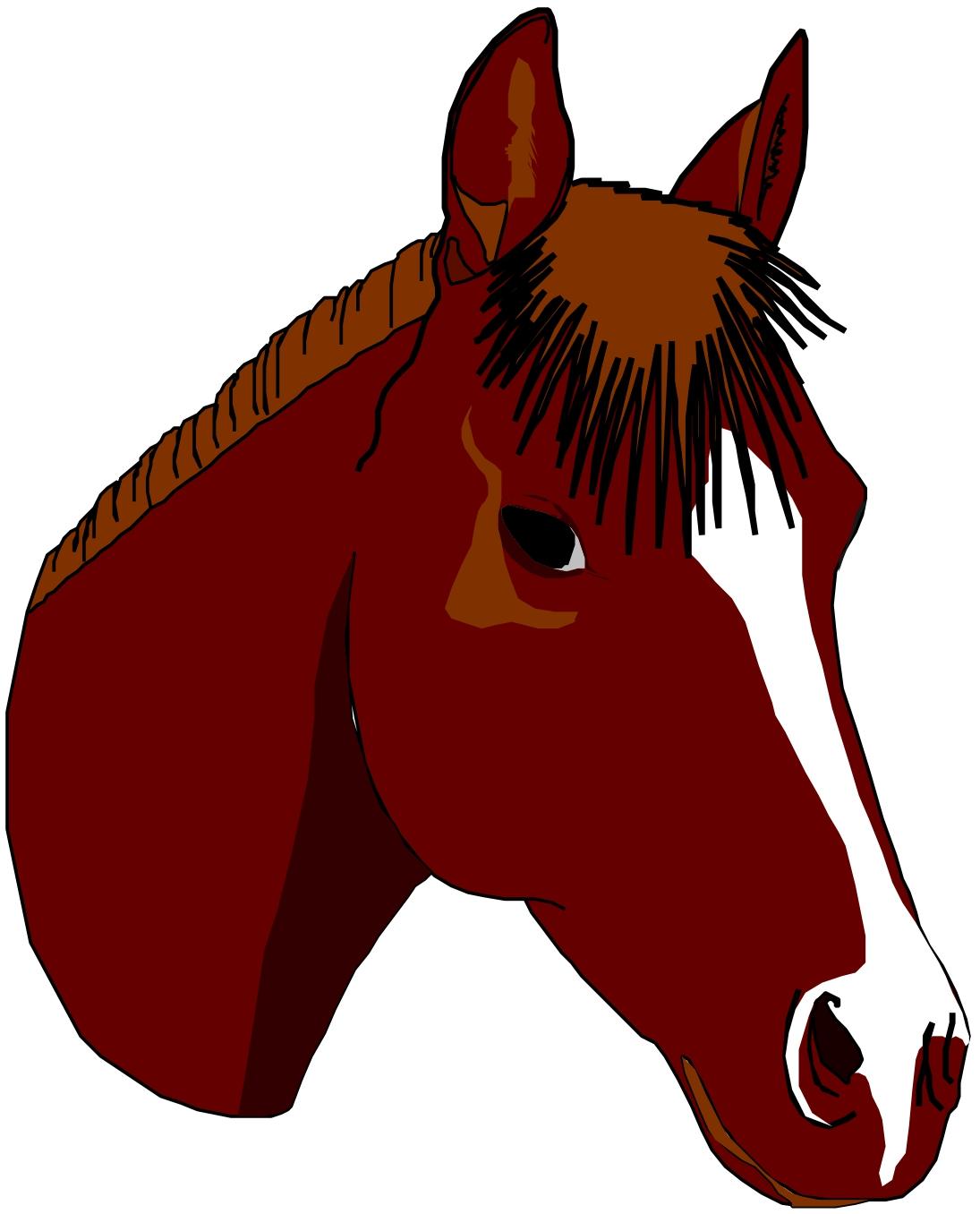 Horse Face Clipart - Clipart Kid