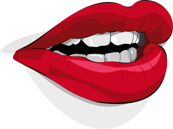 Talking Lips Clipart - Clipart Suggest