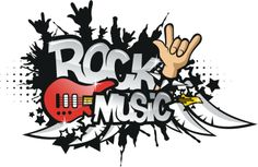 Old Rock Music Clipart Free   Rock Music Vector   Corel Draw Tutorial