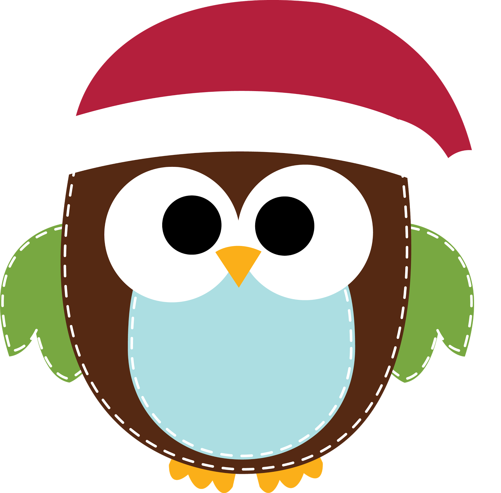 Happy Holidays Owl Clipart - Clipart Kid