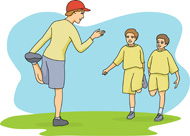 Physical Education Teacher Clip Art Search Results For Physical