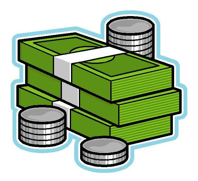Play Money Clipart