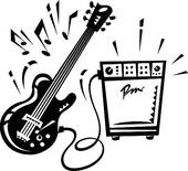 Rock Roll Clip Art And Illustration  2442 Rock Roll Clipart Vector