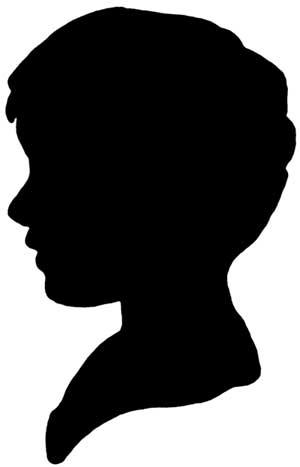 Boy Silhouette Clipart - Clipart Kid