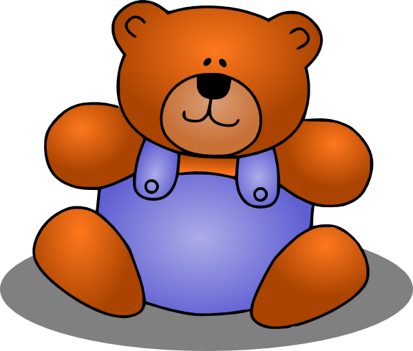 Teddy Bear Clip Art At Clker Com   Vector Clip Art Online Royalty