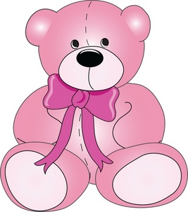 Teddy Bear Clipart Image   Cute Stuffed Teddy Bear