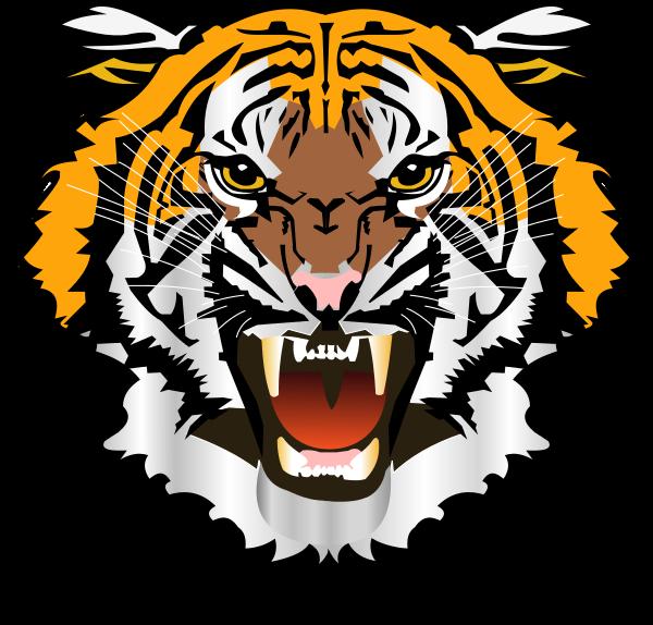 Tiger Transparent Clipart - Clipart Kid