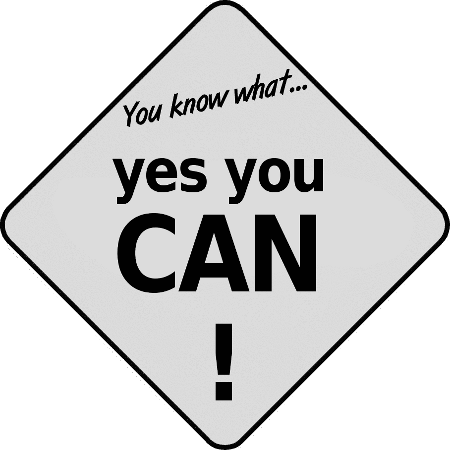 Yes You Can   Http   Www Wpclipart Com Education Signs Yes You Can Png