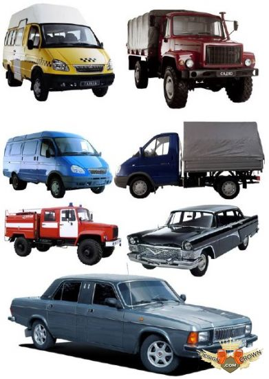 Cars Gaz Transparent Background Russian Modern Cars Gaz Transparent