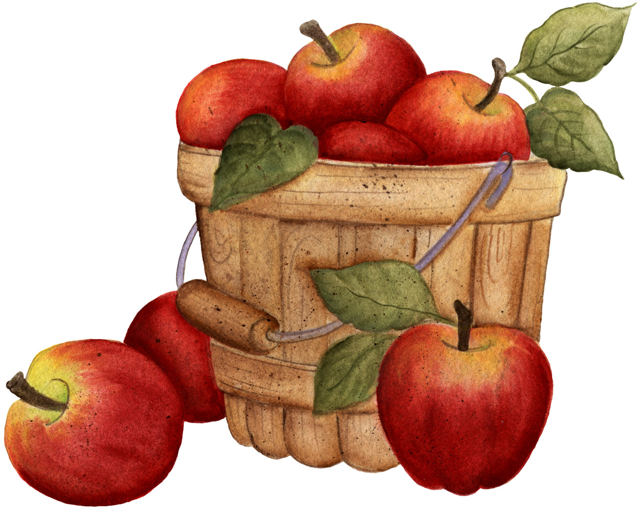 Fall Apple Clipart - Clipart Kid