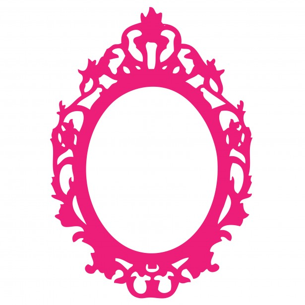 Ornate Pink Frame Clipart Free Stock Photo   Public Domain Pictures
