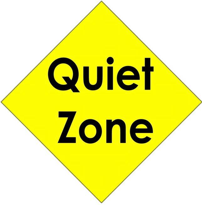 free clipart quiet zone - photo #11