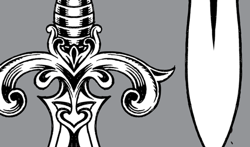 Tattoo Dagger Clip   Vector Genius