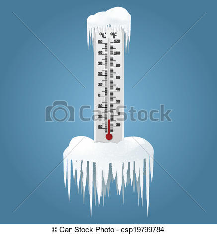 Icy thermometer