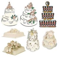Wedding Clipart Png Set   Cars Figurines Champagne Flowers Rings