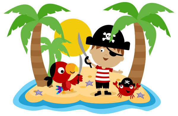 Fun Pirate Clipart - Clipart Kid