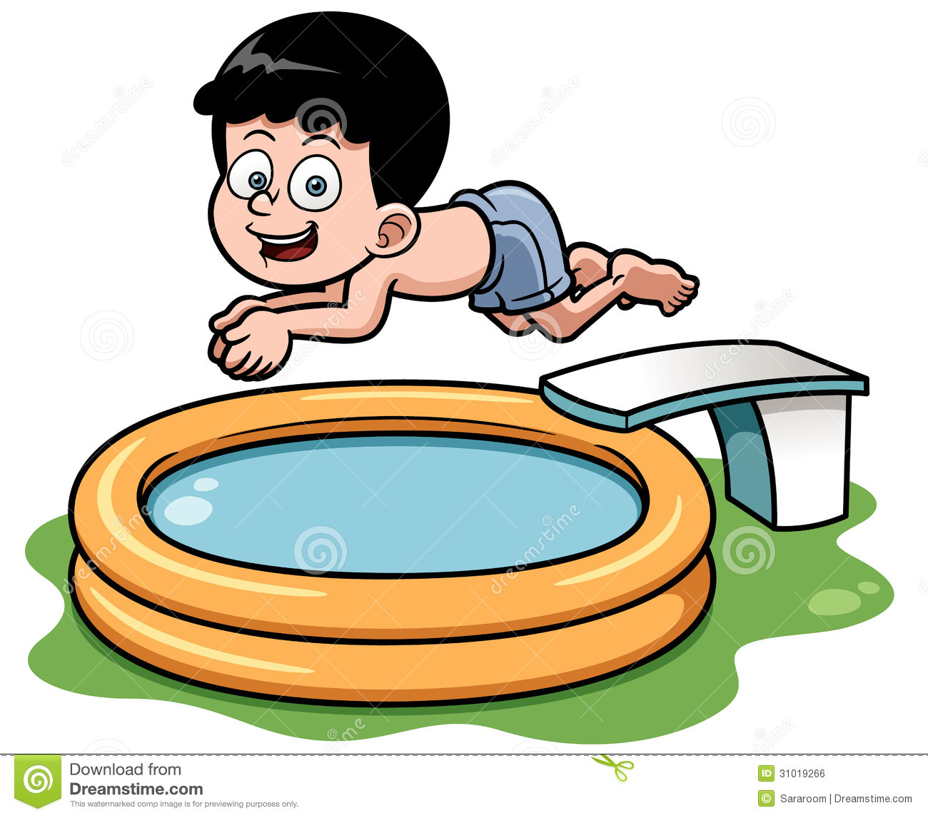 Swimming Pool Cartoon Clipart - Clipart Kid