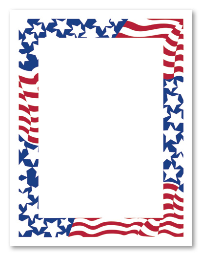 July Clip Art Borders
