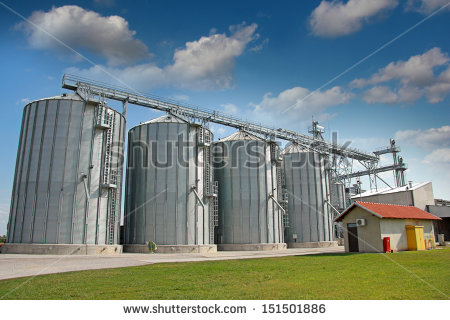 Agricultural Silo   Building Exterior Storage And Drying Of Grains