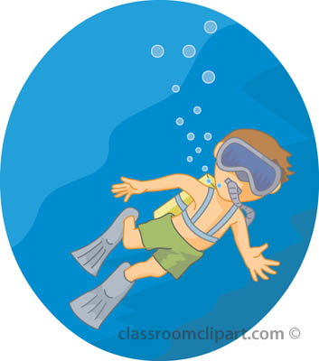Boy Diving Clipart Free Sports   Swimming Clipart