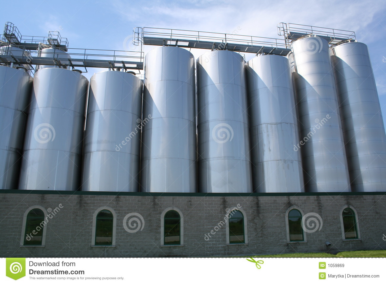 Brewery Royalty Free Stock Images   Image  1059869