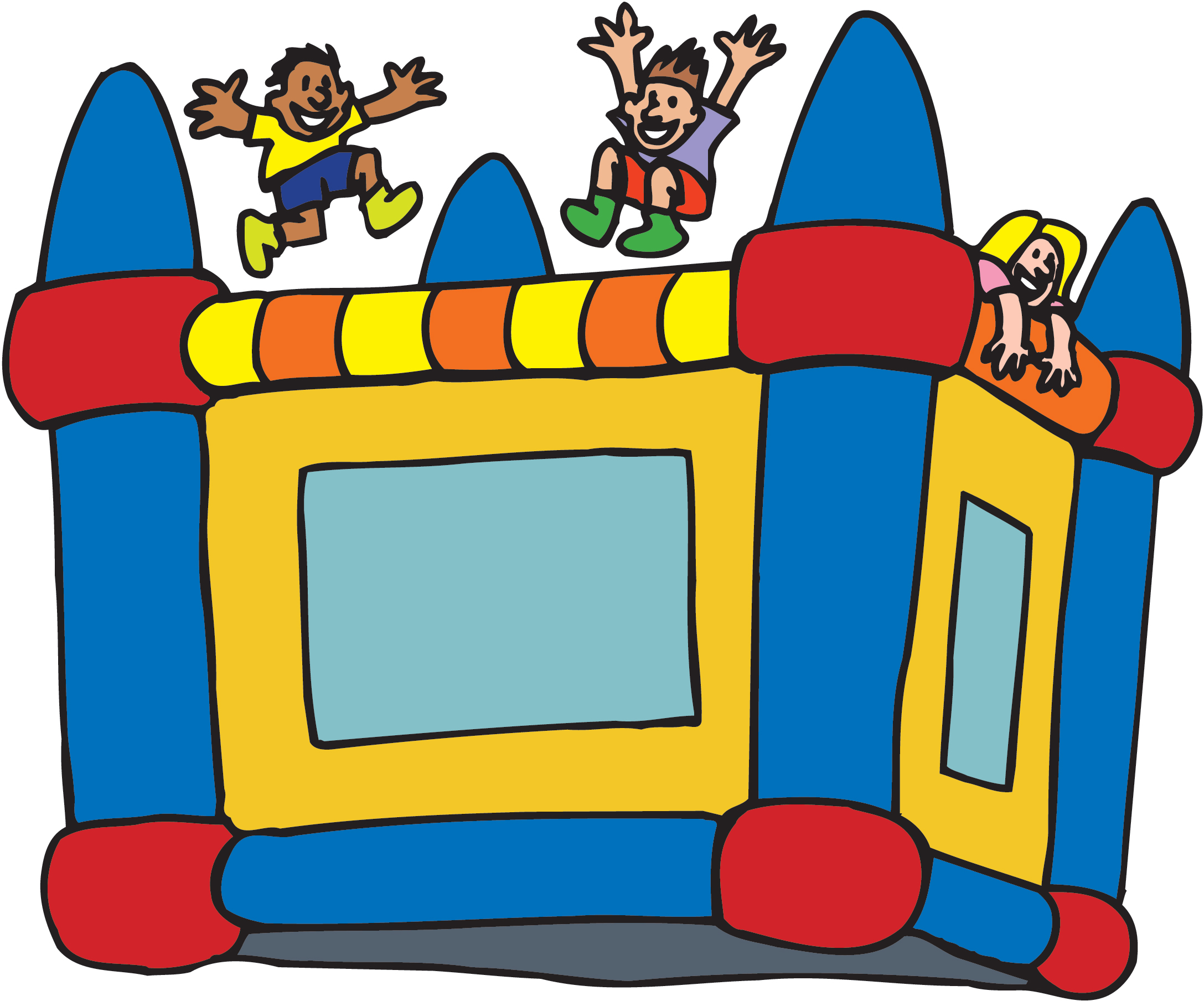 free bounce house clipart - photo #16
