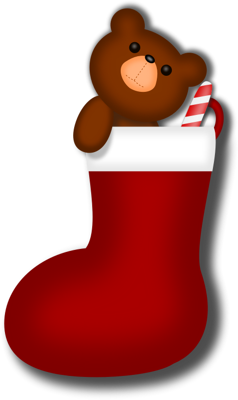 Cute Stock Photography: Cute Stocking Clipart