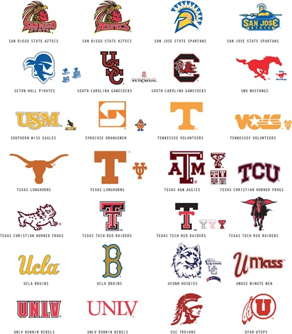 college football logos and names ncaa football tickets