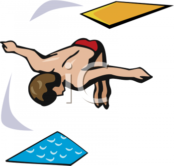 Swimming And Diving Clipart - Clipart Kid