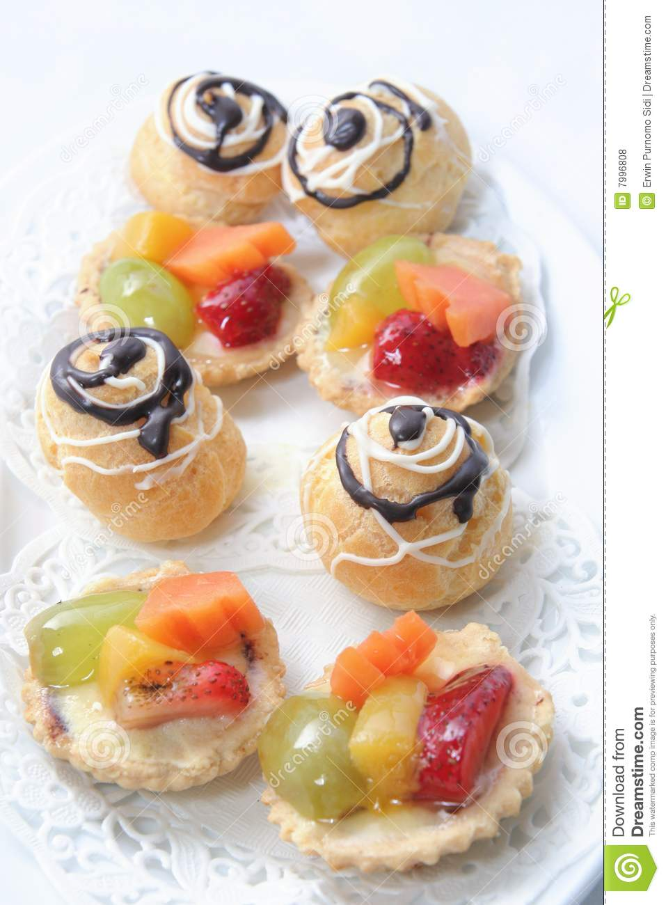 French Pastry Royalty Free Stock Photos   Image  7996808