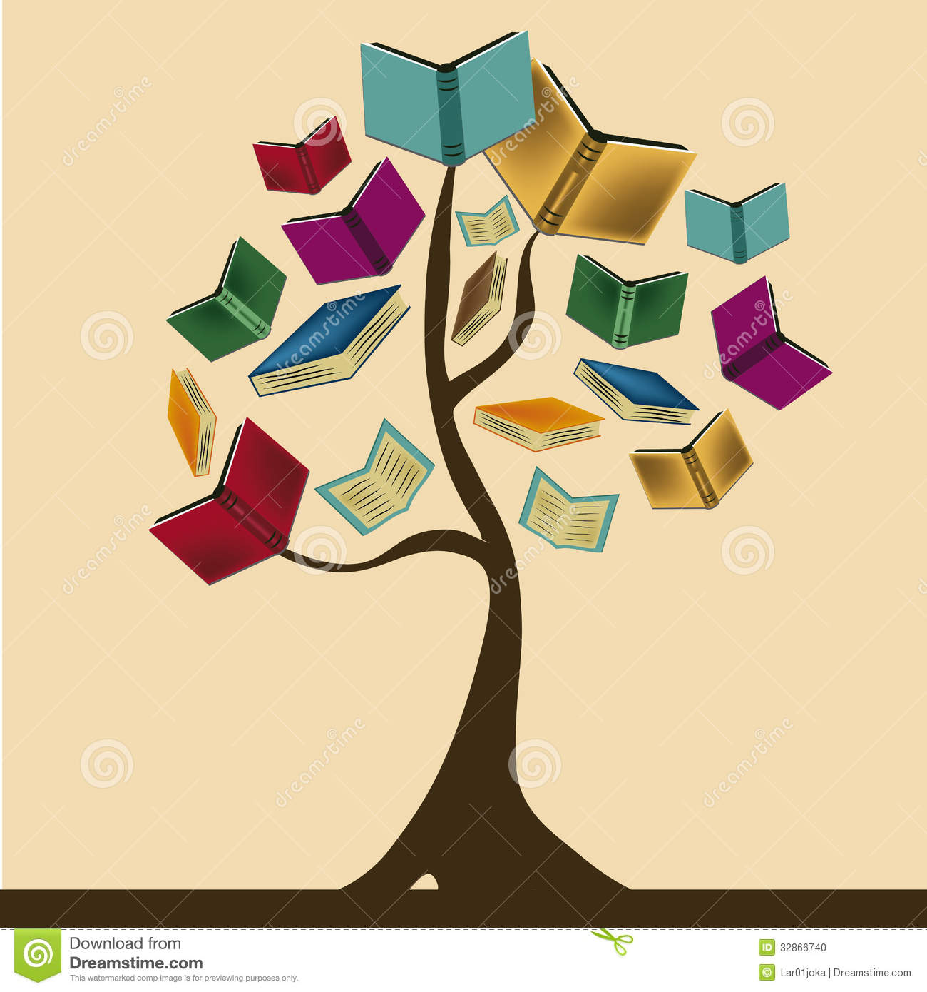 book tree clipart - photo #7
