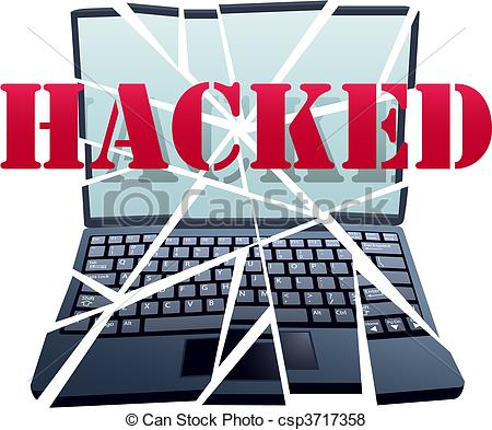 Hacker Has Hacked Cracked And Hijacked A Computer To Crash The Laptop
