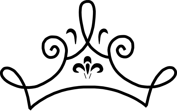 Queen Crown Clipart Black And White   Clipart Panda   Free Clipart