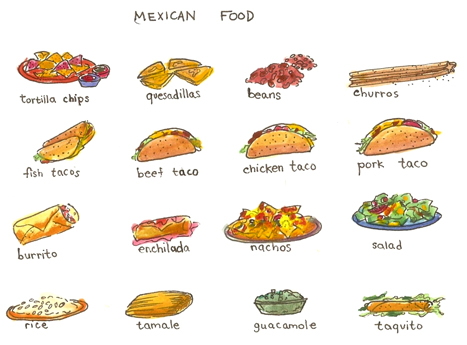 Mexican Food Restaurant Clipart Clipart Suggest