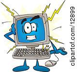 Royalty Free  Rf  Computer Crash Clipart   Illustrations  1