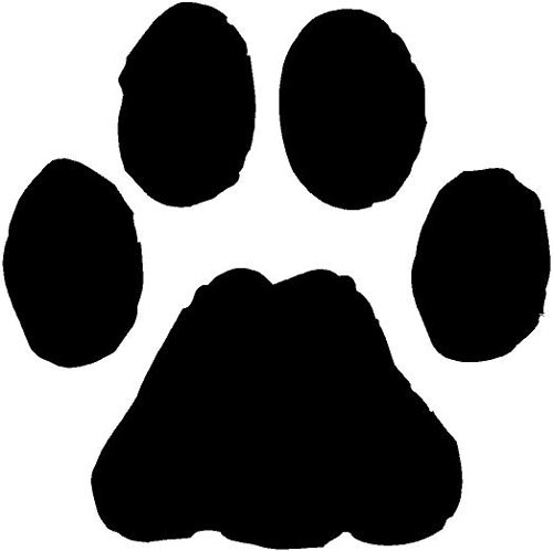 Dog Paw Print Clipart - Clipart Kid