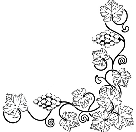 Black And White Leaf Border Clipart   Clipart Panda   Free Clipart