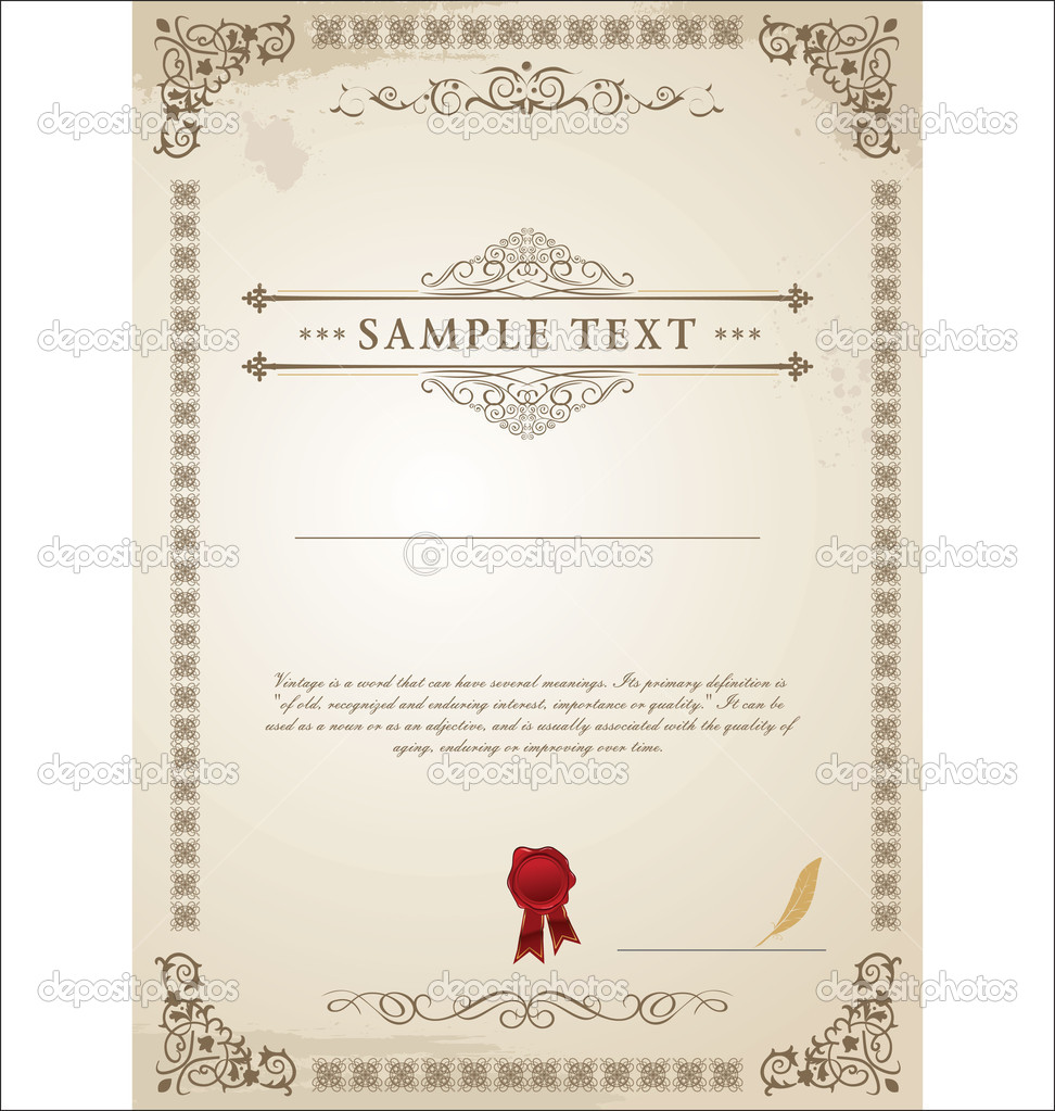 Blank Certificate Template Certificate Templates Memes