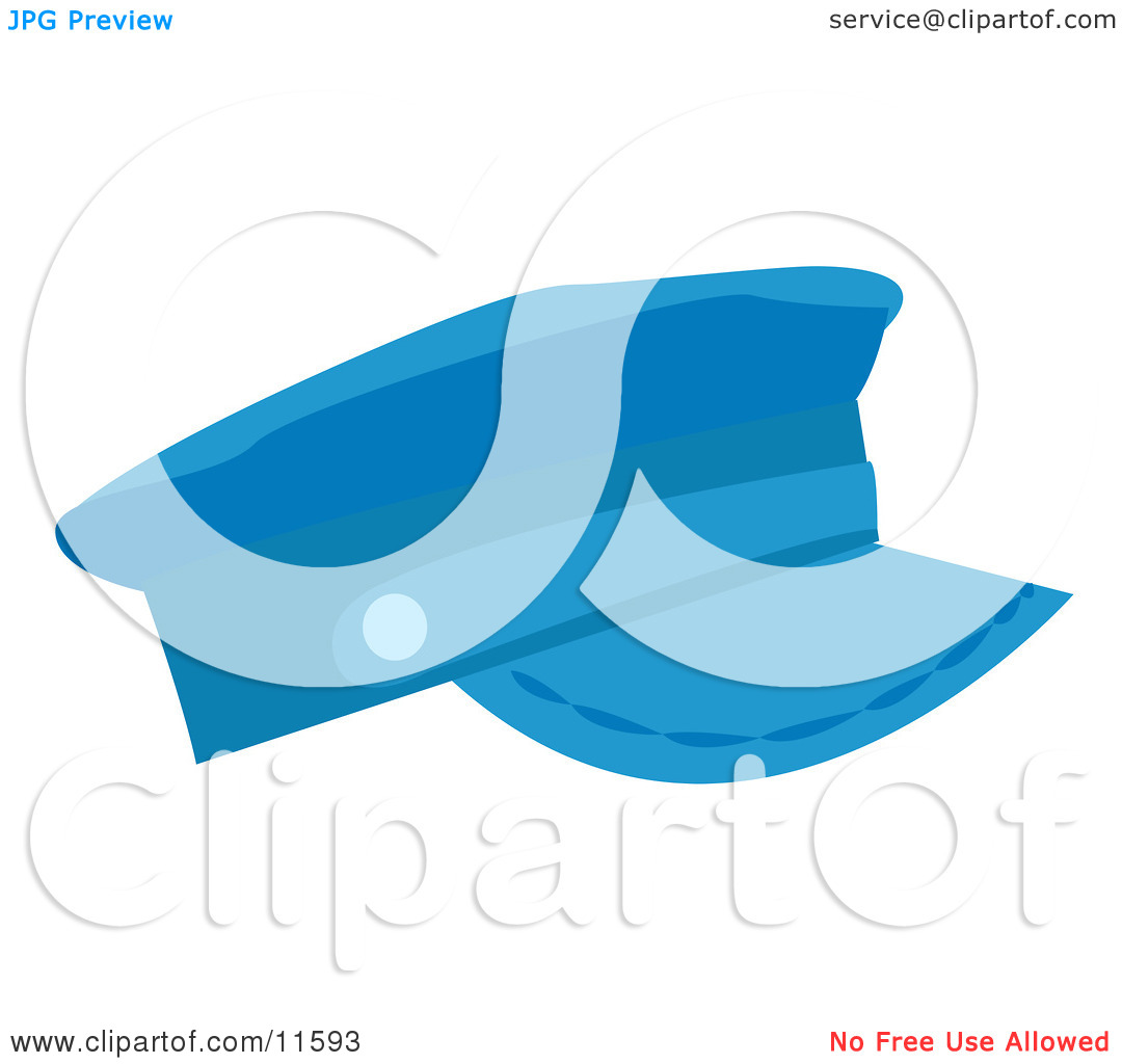 Blue Hat Clipart Picture By Atstockillustration  11593