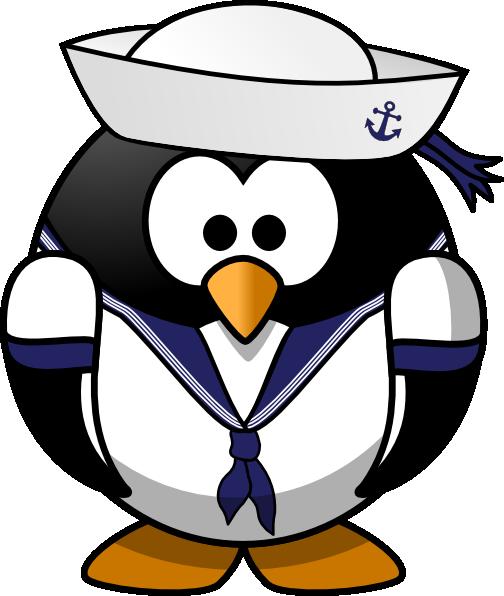 Captain clipart sailor penguin hi png tigv3c clipart