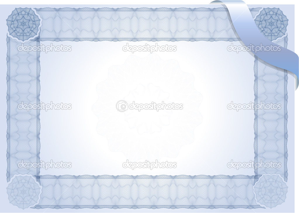 Certificate Diploma Stock Vector Clipart Certificate Diploma Template