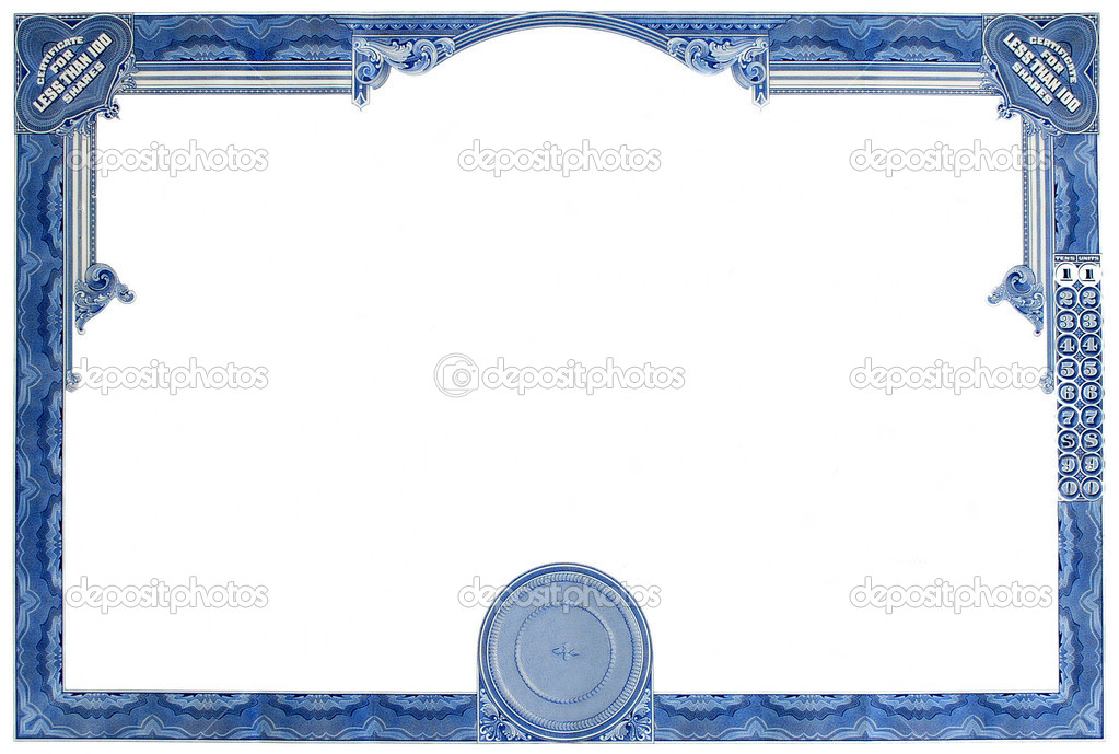 Certificate Frame Template Pictures