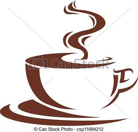 Steaming Coffee Cup Clipart - Clipart Kid