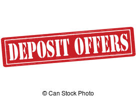 Deposit Offers   Stamp With Text Deposit Offers Inside