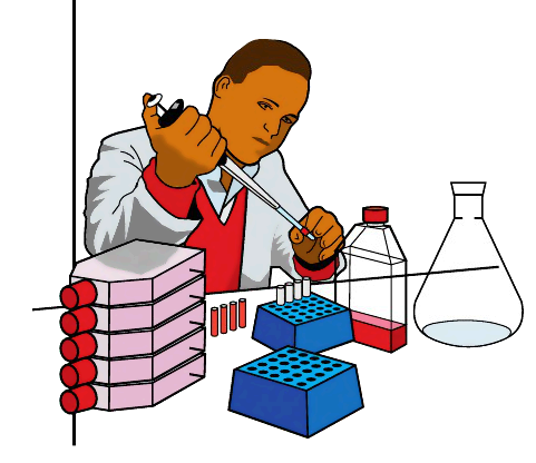 Lab Tech   Http   Www Wpclipart Com Working People At Work Science Lab