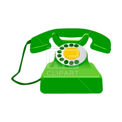 Retro Telephone 117 Objects Download Royalty Free Vector Clipart