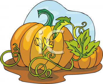 Royalty Free Pumpkin Clipart