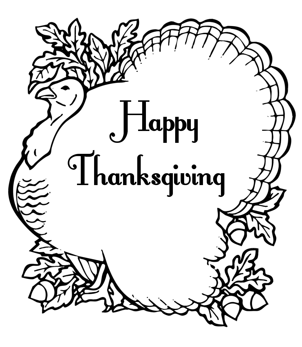 Thanksgiving Coloring Pages 3 Thanksgiving Coloring Pages 4