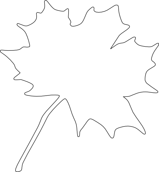 Leaf Border Black And White Clipart - Clipart Suggest