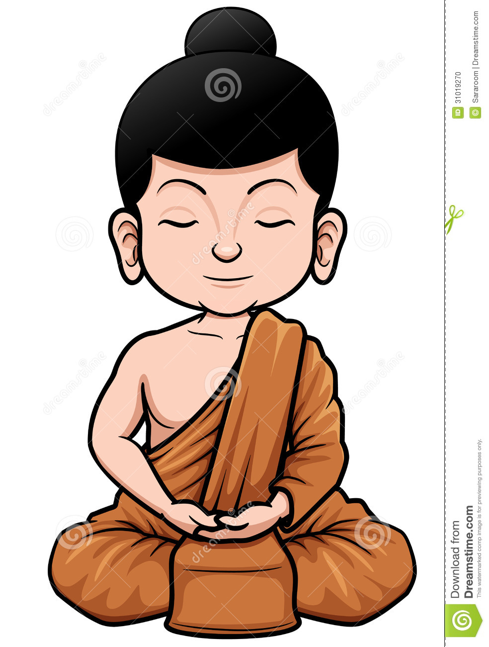 Buddhist Monk Clipart - Clipart Suggest